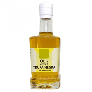 Olive oil with black truffle with sprayer