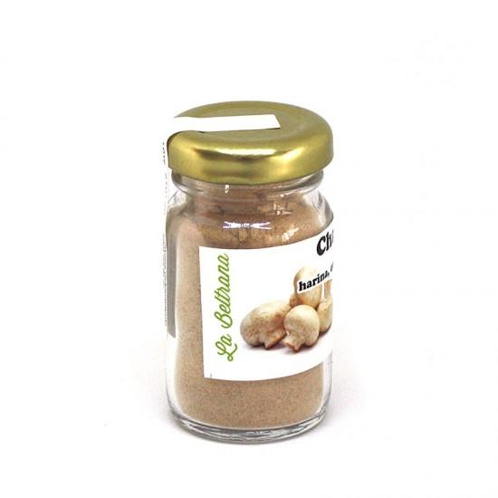 Mushroom flour