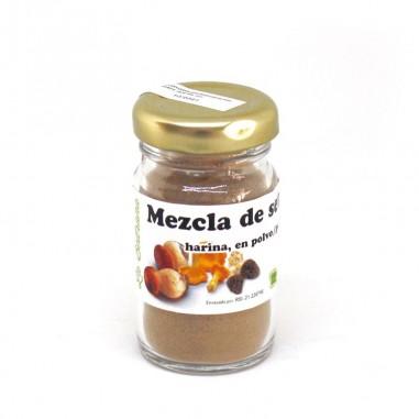Harina de mezcla de setas silvestres