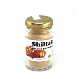 Harina de shiitake