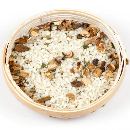 Boletus and truffle risotto