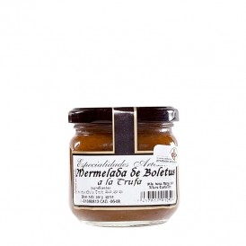 Boletus and truffle jam