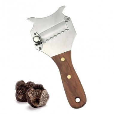 Mandolina de trufa cuchilla dentada