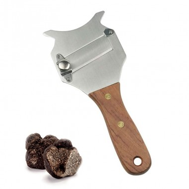 Mandolina de trufa cuchilla lisa