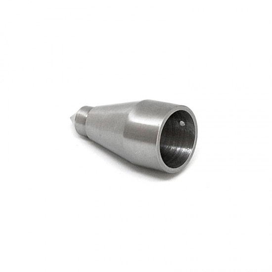 Stainless steel tip for wooden cane 22 mm