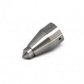 Stainless steel tip for wooden cane 24 mm
