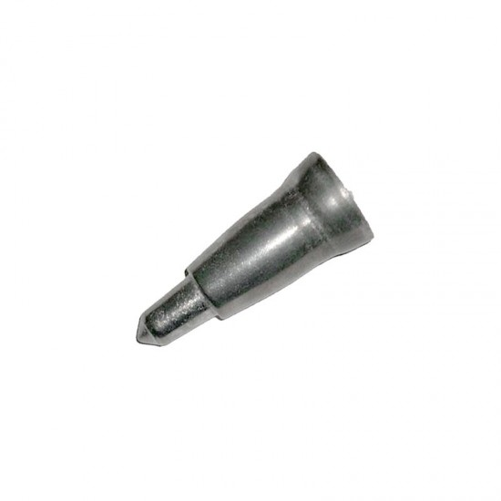 Metal tip for wooden cane 22 mm