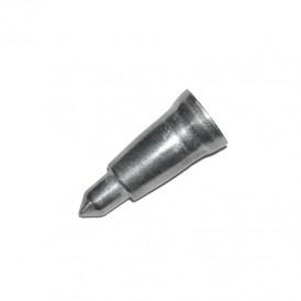 Embout métallique pour canne en bois 24 mm