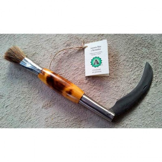 Handmade mushroom knife