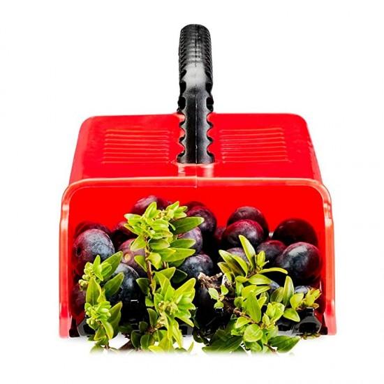 Plastic wild fruit collector