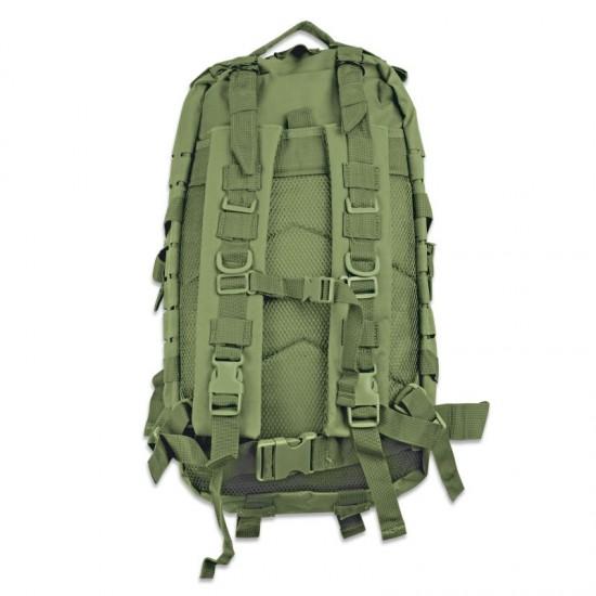 Tactical backpack green 30 L Laser Cut