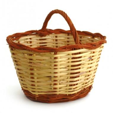 cesta mimbre y caña n9