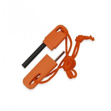 Orange portable emergency flame