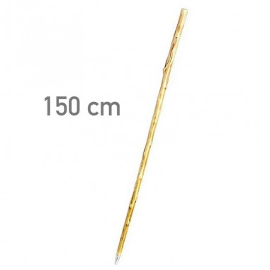 Light chestnut cane with spike 150 cm