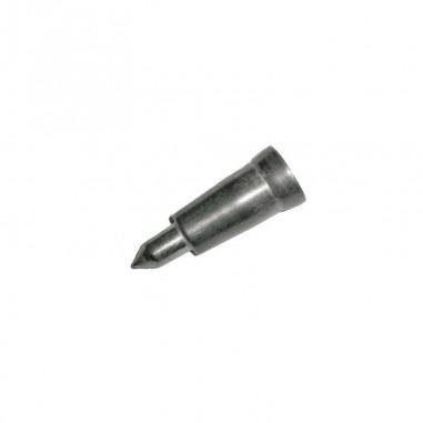 Pointe métallique pour bâton en bois 16 mm