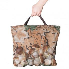 Malla para recolección camuflaje bosque