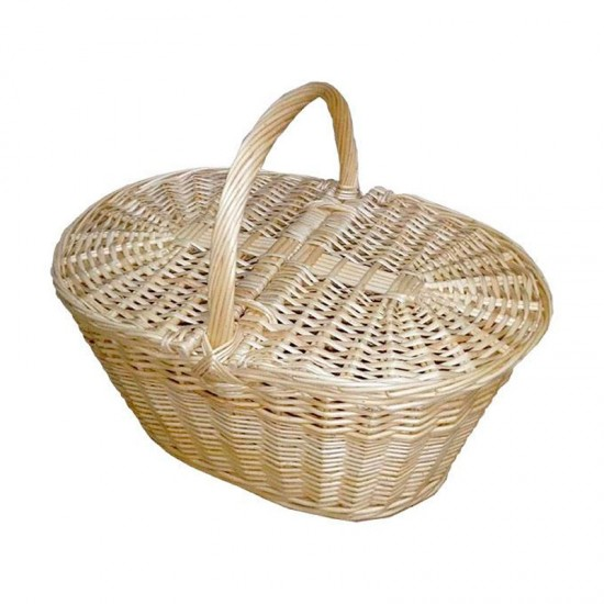 copy of Large niscalera basket with natural wicker lids