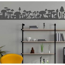 Decorative vinyl mod. Mushrooms
