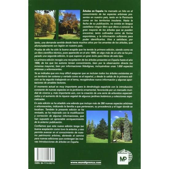 Trees in Spain. Identification manual