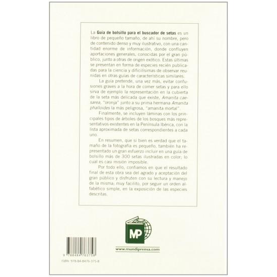 Guía de bolsillo para el buscador de setas F. de DIEGO CALONGE