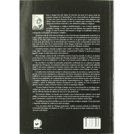 Hongos medicinales F. de DIEGO CALONGE