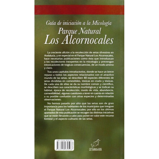 Mycology initiation guide. Los Alcornocales Natural Park