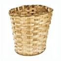 Mochila para setas con cesto de castaño