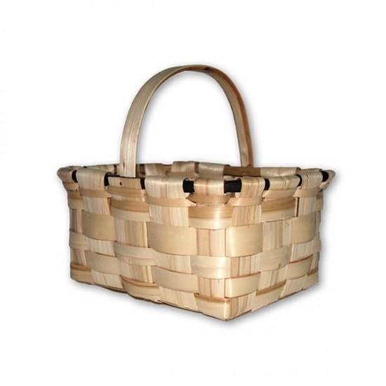 Medium-sized chestnut mushroom basket (domestic manufacture)