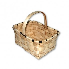 Medium-sized chestnut mushroom basket (domestic manufacture)
