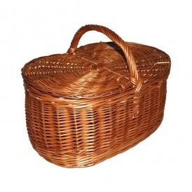 Wicker basket with lids 02