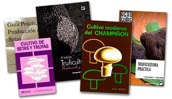 libros de cultivo de setas y trufas