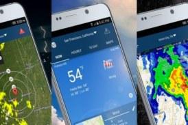 ✅ ¡Alarma de lluvia! Las mejores apps seteras de información meteorológica