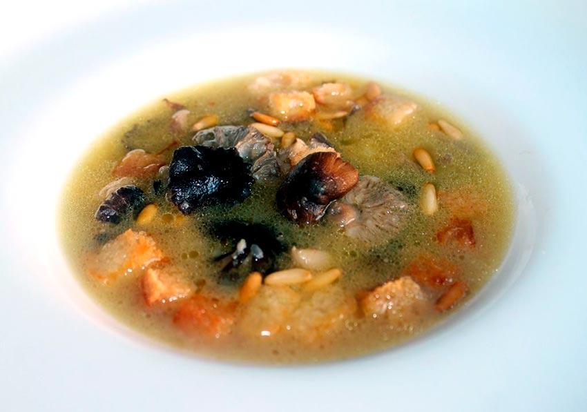 receta de fredolic- sopa de fredolic- cocinar fredolics-la casa de las setas