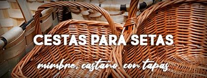 cestas para buscar setas