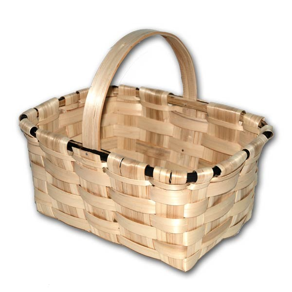 Chestnut mushroom basket XL (domestic manufacture)