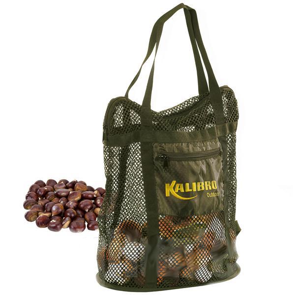 Collection bag Green chanterelle
