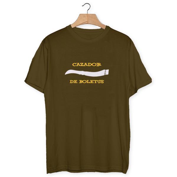 Camiseta Cazador de Boletus