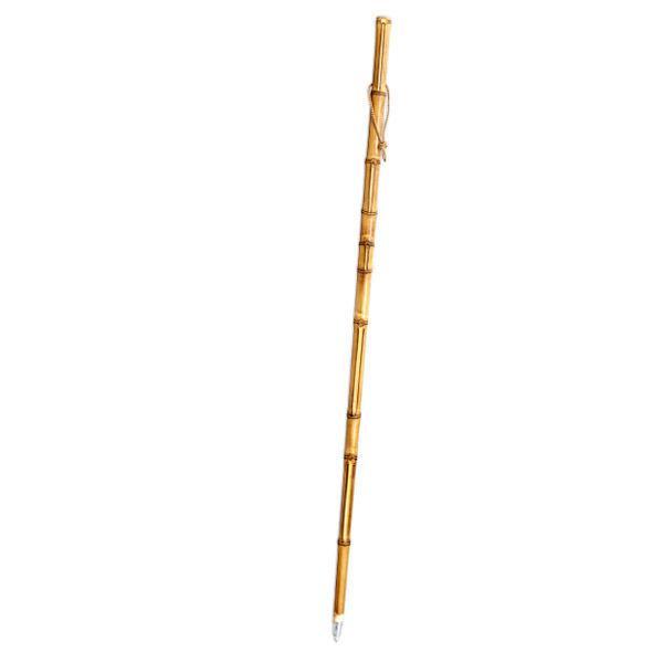 Bastón de bambú para buscar setas