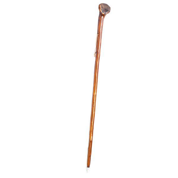 Dark brown cane with truncheon