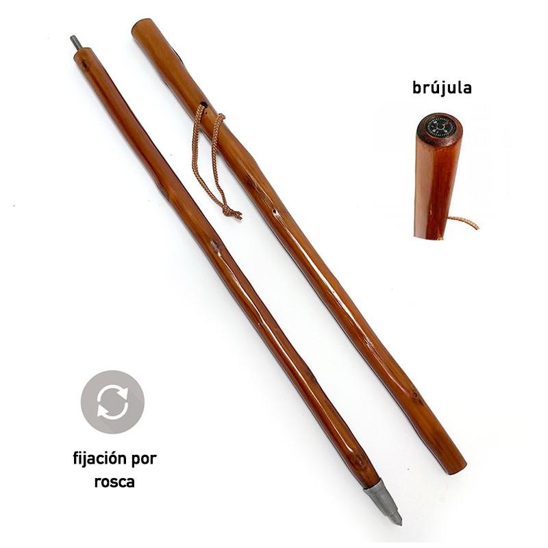 Baston de madera plegable 60 cm
