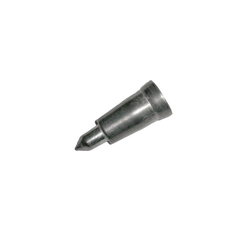 Metal tip for wooden cane 18 mm