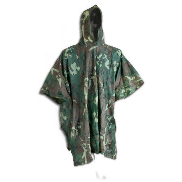 Poncho impermeable camuflaje